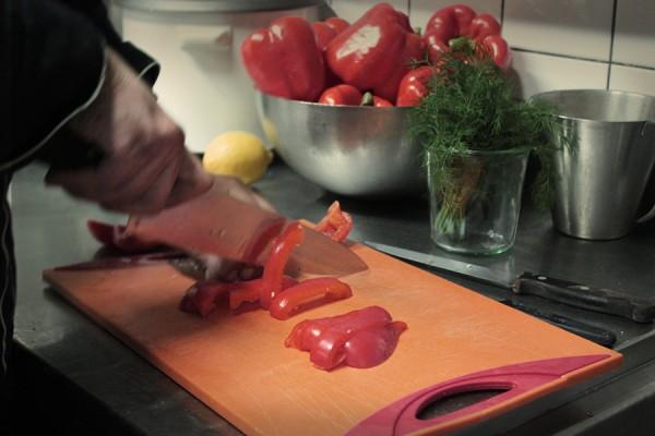 Frisch zubereitete Menus aus der Tuchlauben-Küche